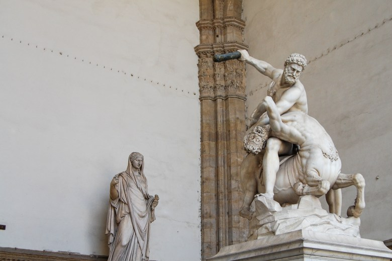loggia dei lanzi - florença - italia - toscana