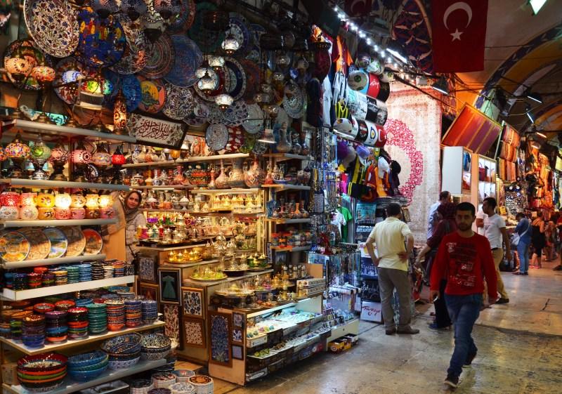 Grande Bazar - istambul - turquia
