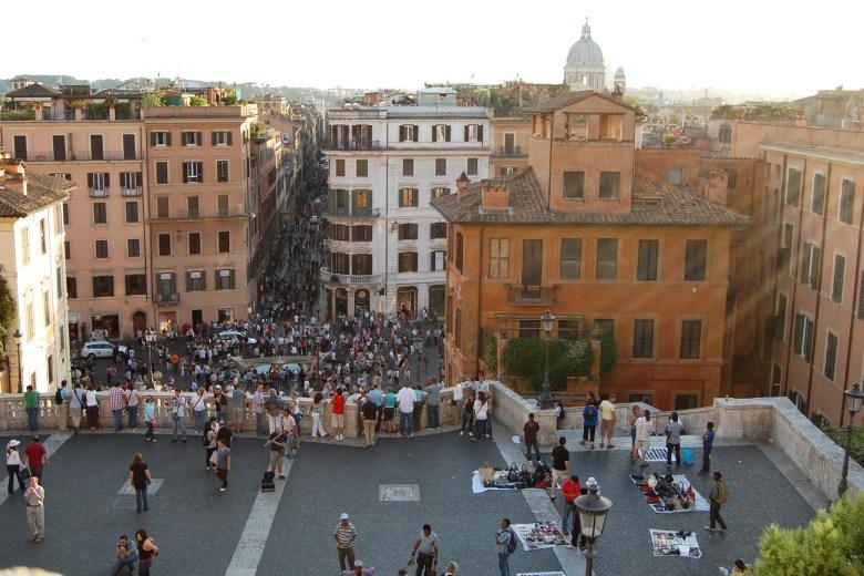 praça de espanha - roma - itália - pontos turísticos