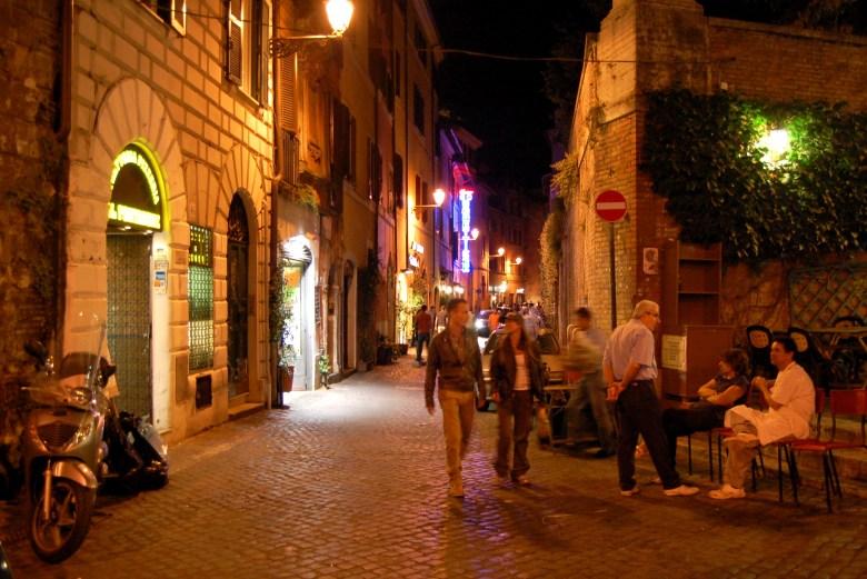trastevere - roma - pontos turísticos - itália
