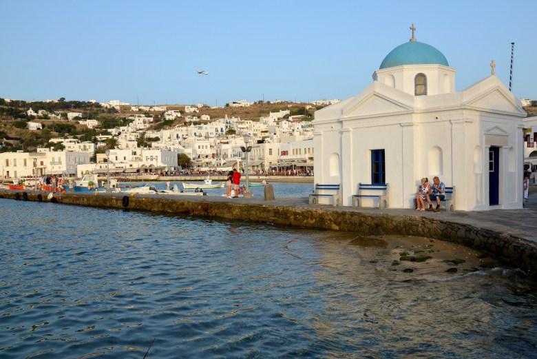 igreja sao nicolas - mykonos - grécia