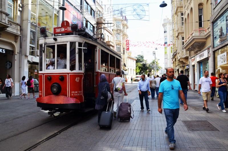 avenida- istiklal - istambul - turquia