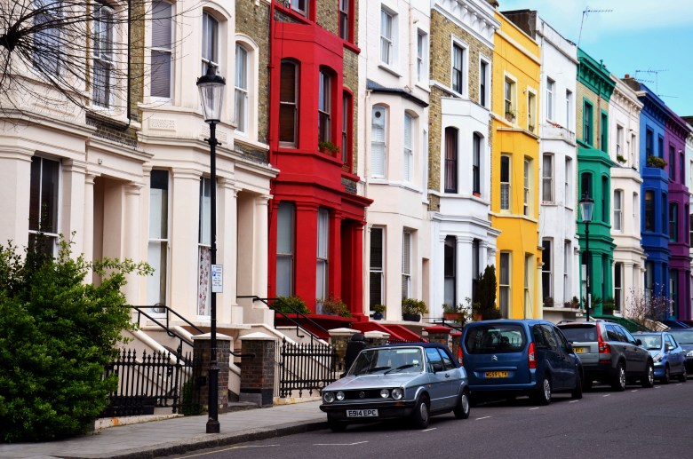notting hill - londres - reino unido