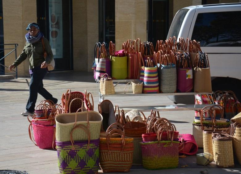 bolsas de palha - aix en provence - frança