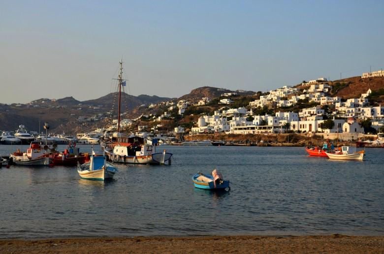 porto velho - mykonos - grécia