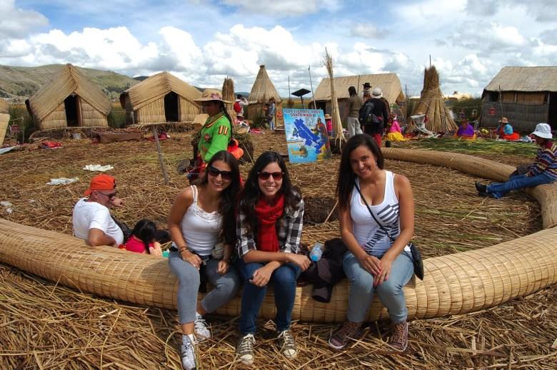 Ilhas Flutuantes dos Uros - lago titicaca - peru - turismo