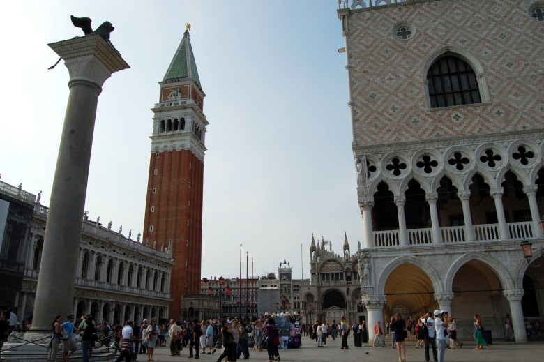 piazza di san marco - praça de são marcos - veneza - itália - pontos turísticos