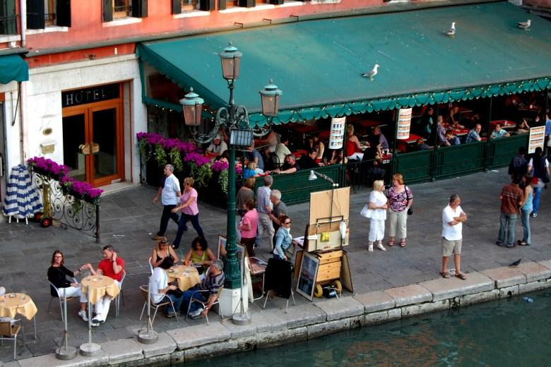 restaurantes - grande canal - veneza - itália - turismo