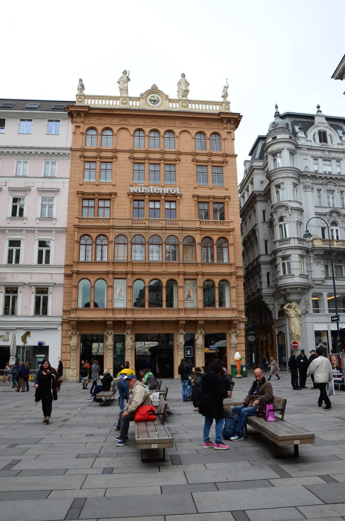 ruas comerciais - viena - pontos turisticos