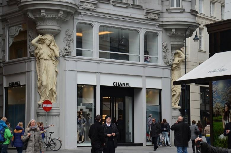chanel - ruas comerciais - viena - pontos turisticos
