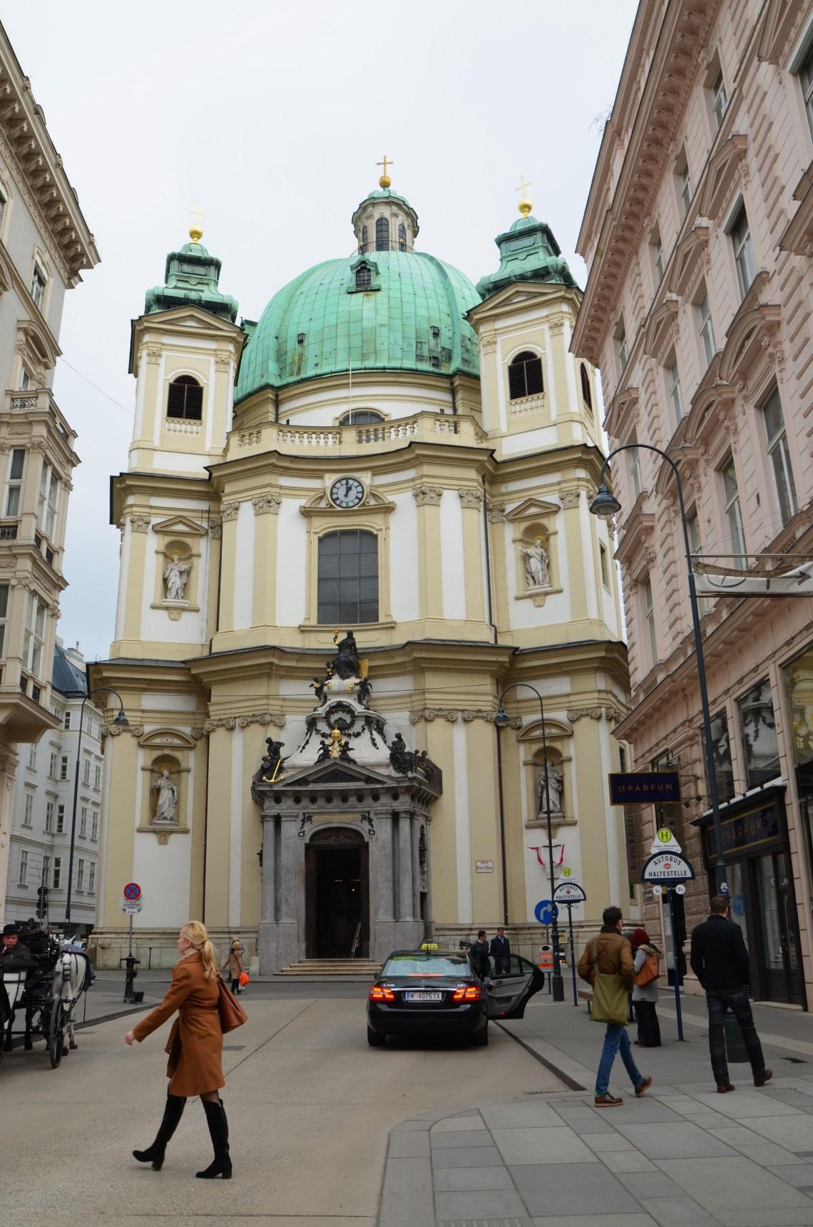 igreja sao pedro - ruas comerciais - viena - pontos turisticos
