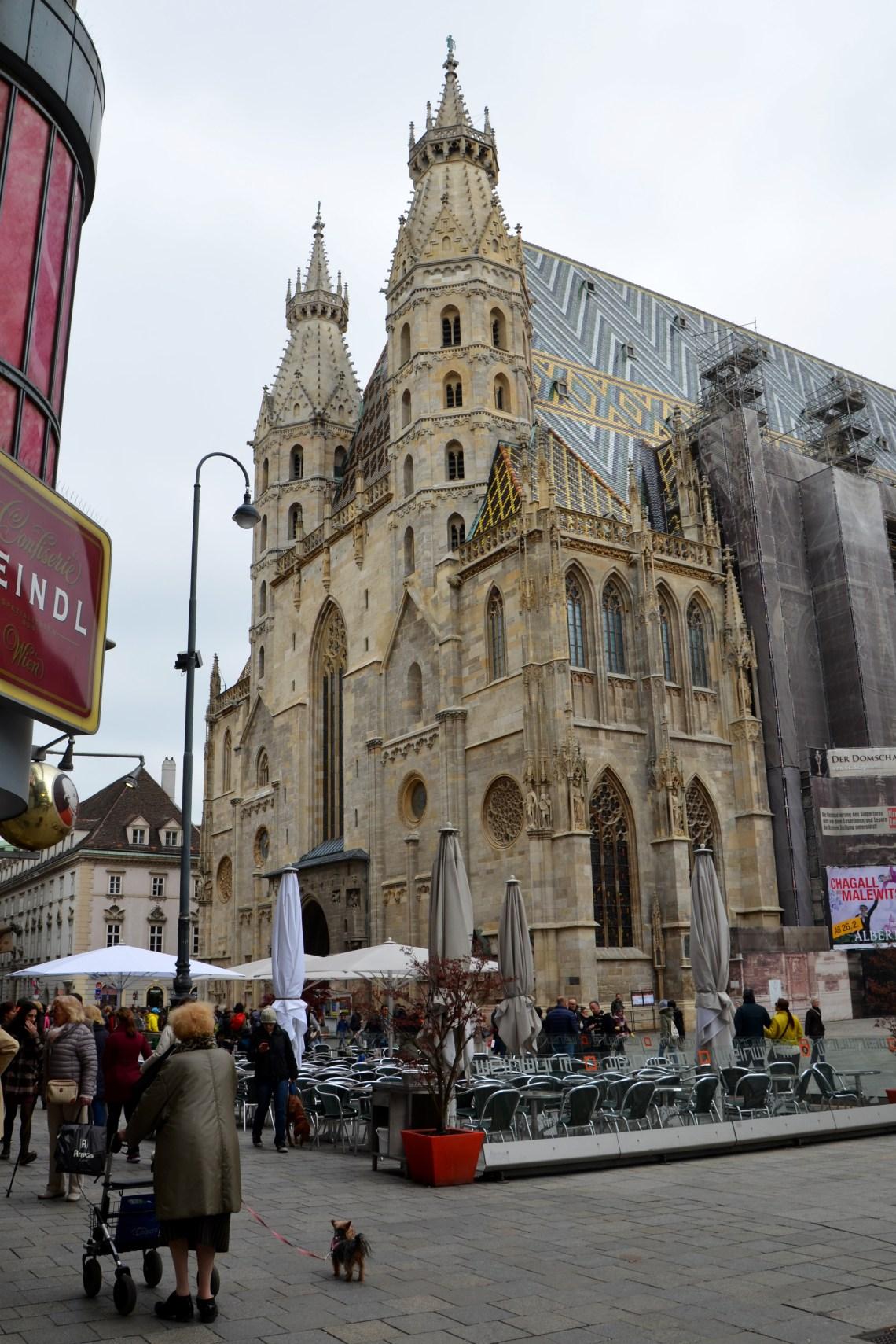 catedral de são estevão - viena - austria - pontos turisticos