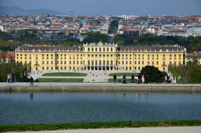 schonbrunn - viena - áustria - pontos turísticos - roteiro pelo leste europeu