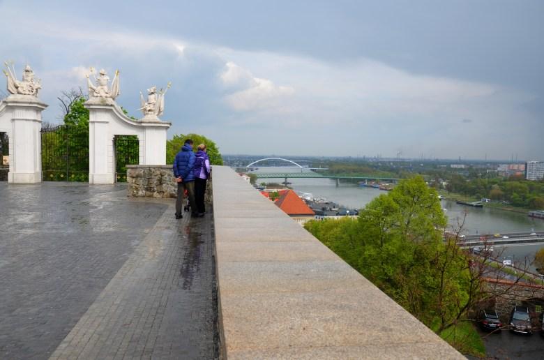 castelo de bratislava - Bratislava - Eslováquia - pontos turísticos
