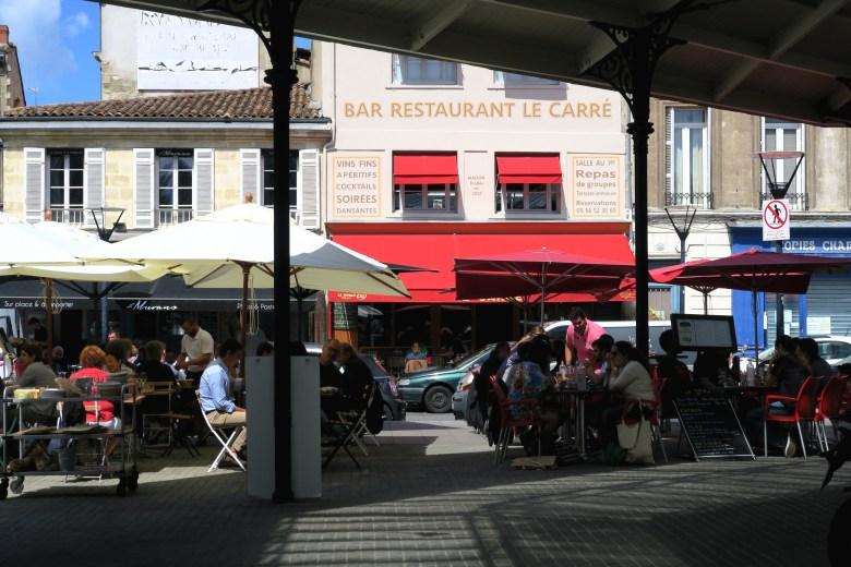 place du marché chartrons - bordaux- frança - pontos turísticos