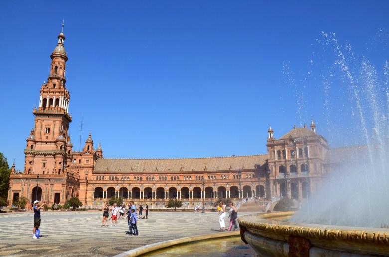 plaza de españa - sevilha - andaluzia - pontos turísticos