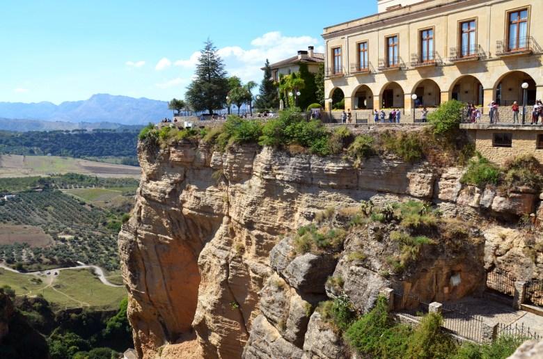 mirador dos viajeros romanticos - o que fazer em ronda - andaluzia - espanha