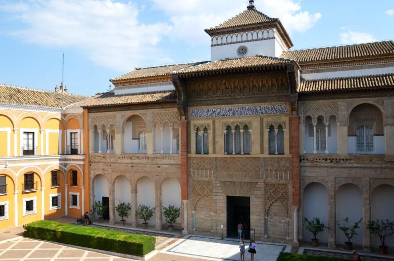 palácio alcazar de sevilha - andaluzia - pontos turísticos e fotos