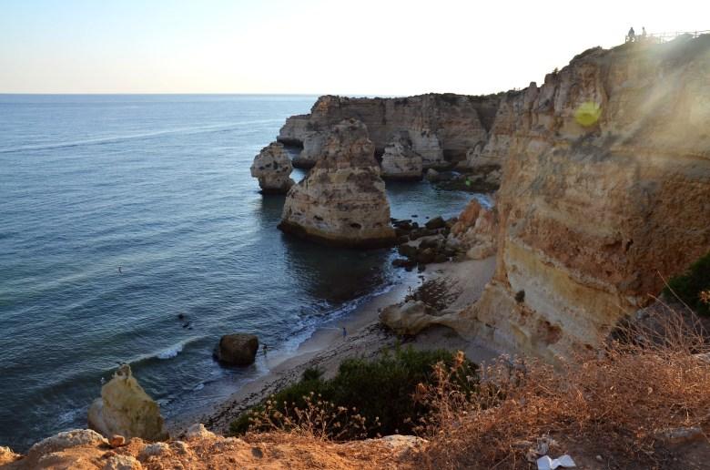 praia da marinha - as melhores praias do algarve - portugal - turismo