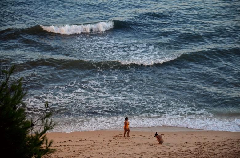 as melhores praias do algarve - praia da marinha