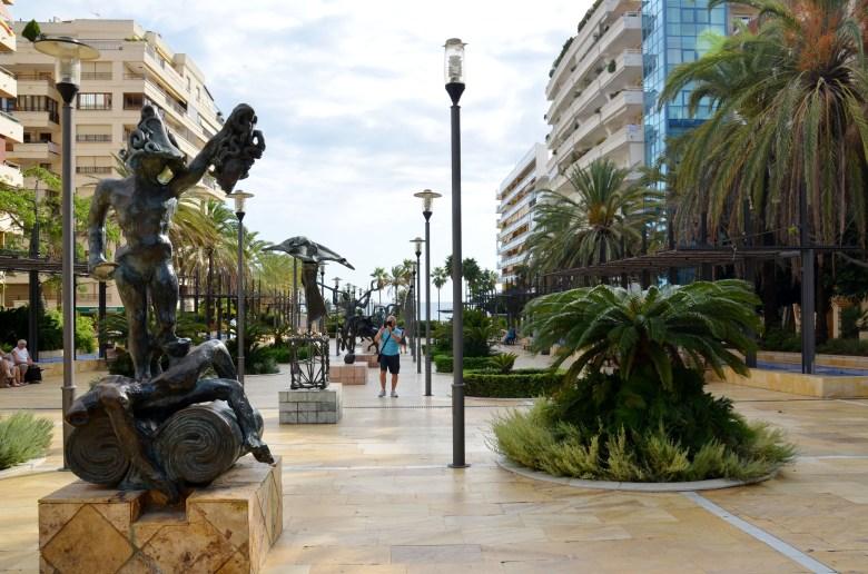 avenida del mar - o que fazer em marbella - andaluzia - espanha