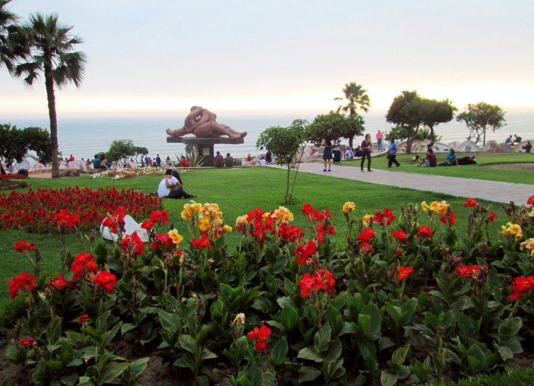 parque del amor - miraflores - o que fazer em lima - peru