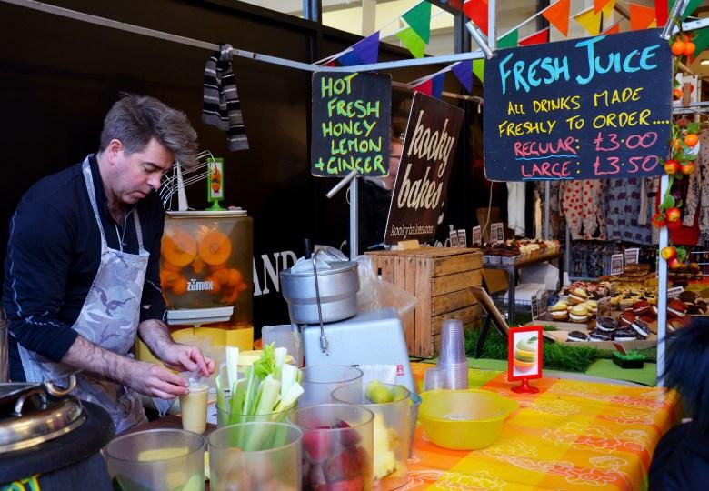 mercados de comida - o que fazer em brick lane - londres