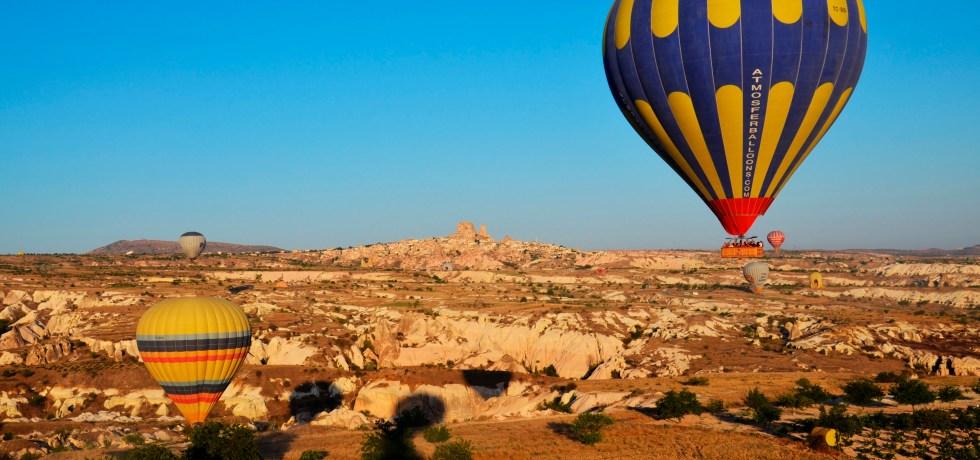 passeio de balão - capadócia - roteiro na turquia