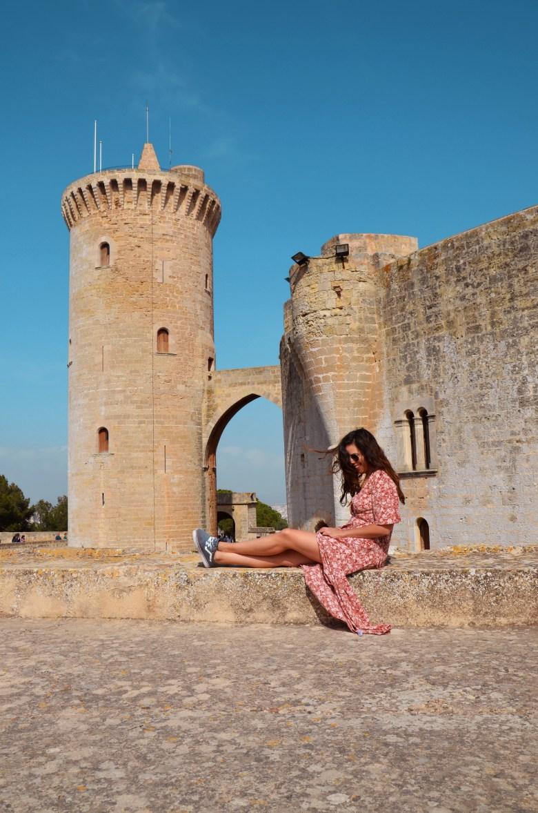 castelo bellver - palma de maiorca - espanha - turismo