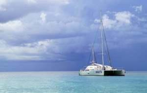 isola saona: si può andare anche in catamarano