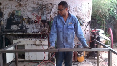 Welding at Recovery House (6)