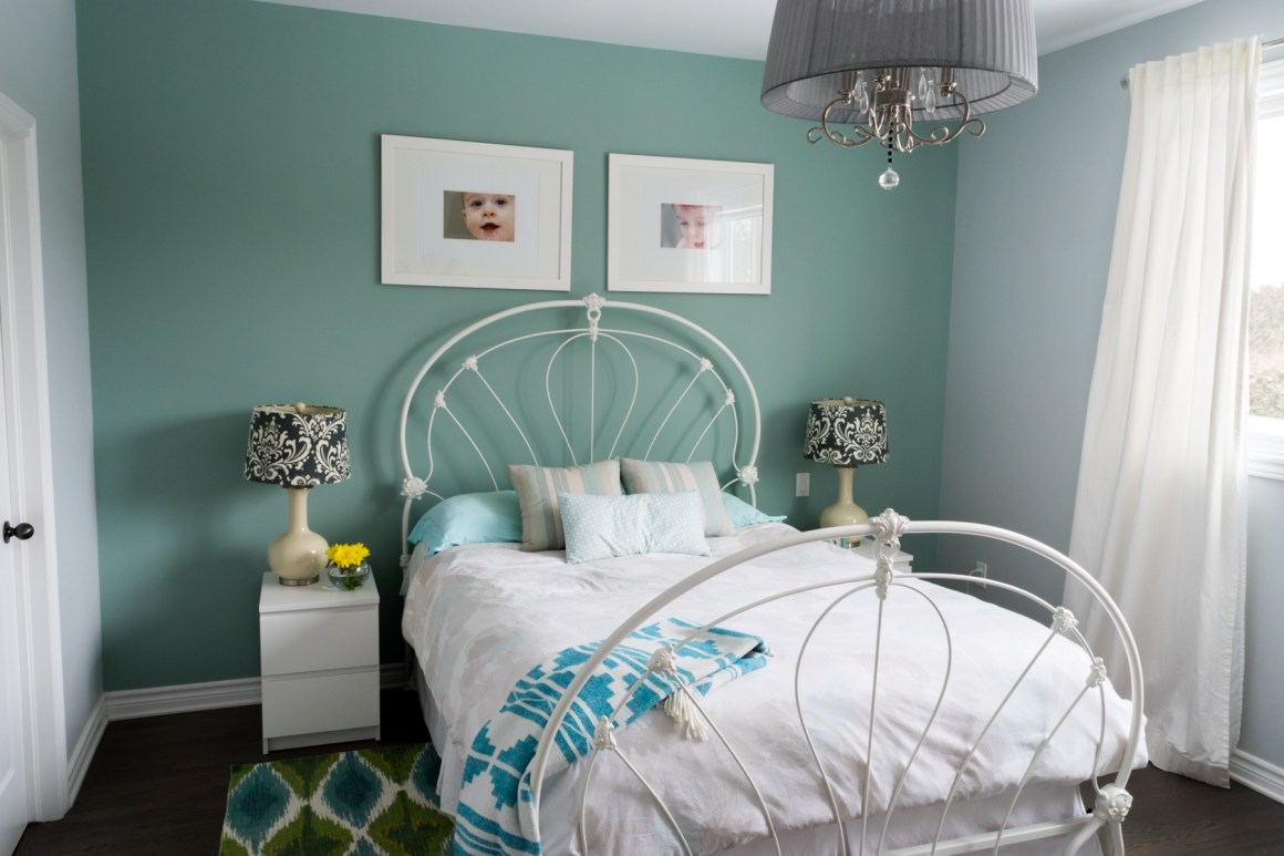 Bedroom Makeover - After