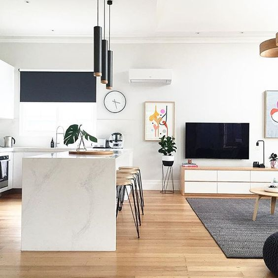 White Kitchen Oak Floor: Should You Stain Your Oak Floors?