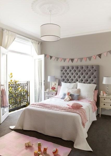 Choosing a Paint Colour For a Girls Room