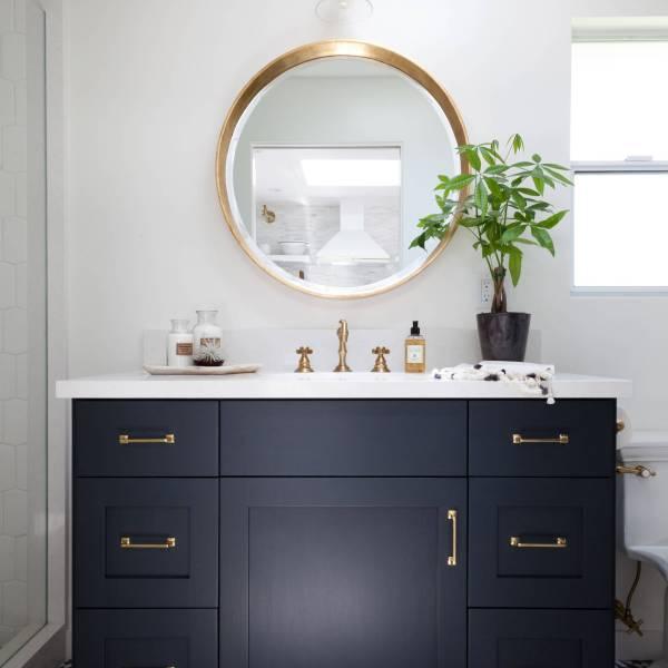 Brass Fixtures For Your Bathroom!