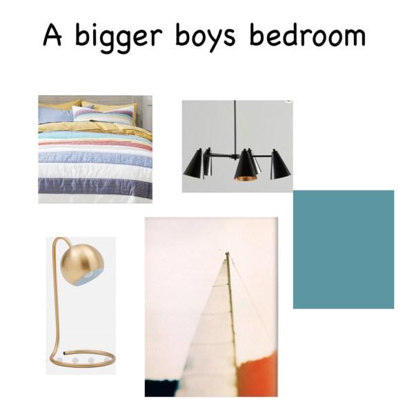 Boys Bedroom Mood Board