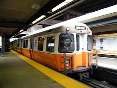 Orange Line T Train