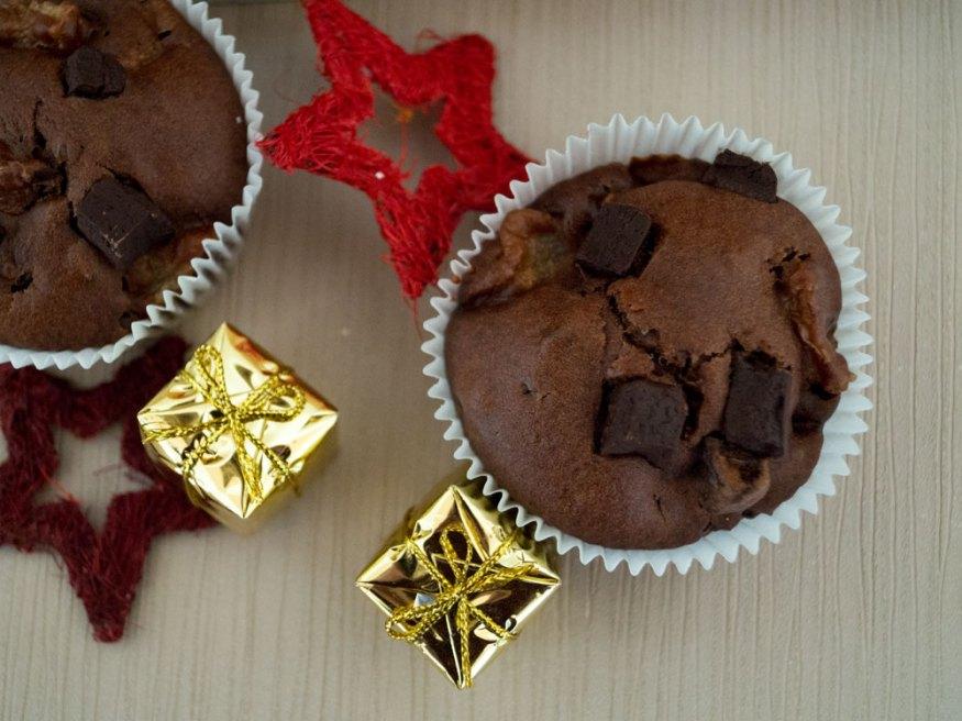 Schoko-Birnen-Muffins