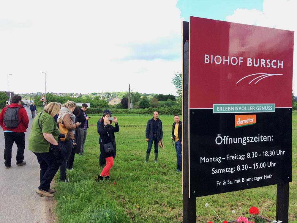 Biohof Bursch im Frühling