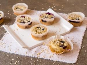 Histaminarme Frühstücksmuffins ohne Kristallzucker