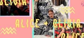 Nuestra segunda vez en el mundo mágico de Alice + Olivia en NYFW