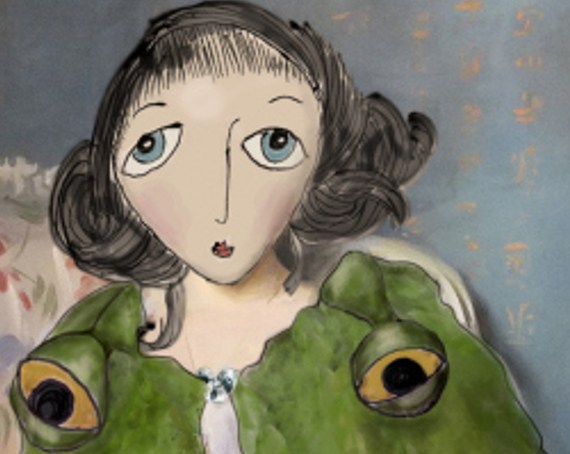 lady agnew, frog princess