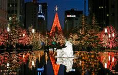 Holiday Lights at Temple Square in Salt Lake City, Utah, Nov. 28, 2008. Photo by Tom Smart