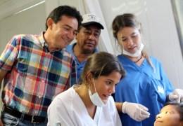 Jornada Internacional de Salud Bucal en Telchac Puerto
