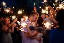 Krásní fotky z letní svatby