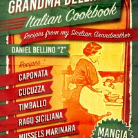 Cover Grandma Bellino Sicilian Cookbook