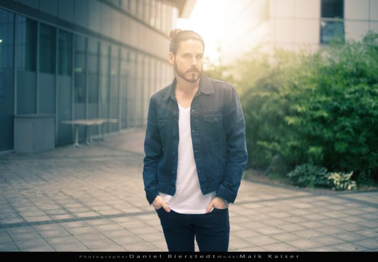 Maik Kaiser Male Model beim Modelwalk in Köln