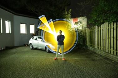 Studioabend 10 Lightpainting