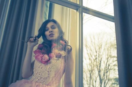 Anna Strelnikova performing for our Hotel Portrait in a sweet fairytale costume https://danielbierstedt.de/hotel-fashion-anna/