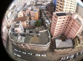 Dar -Es-Salaam city pie-eye view rooftop recording2_db